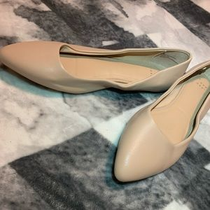 A New Day pale pink flats size 10